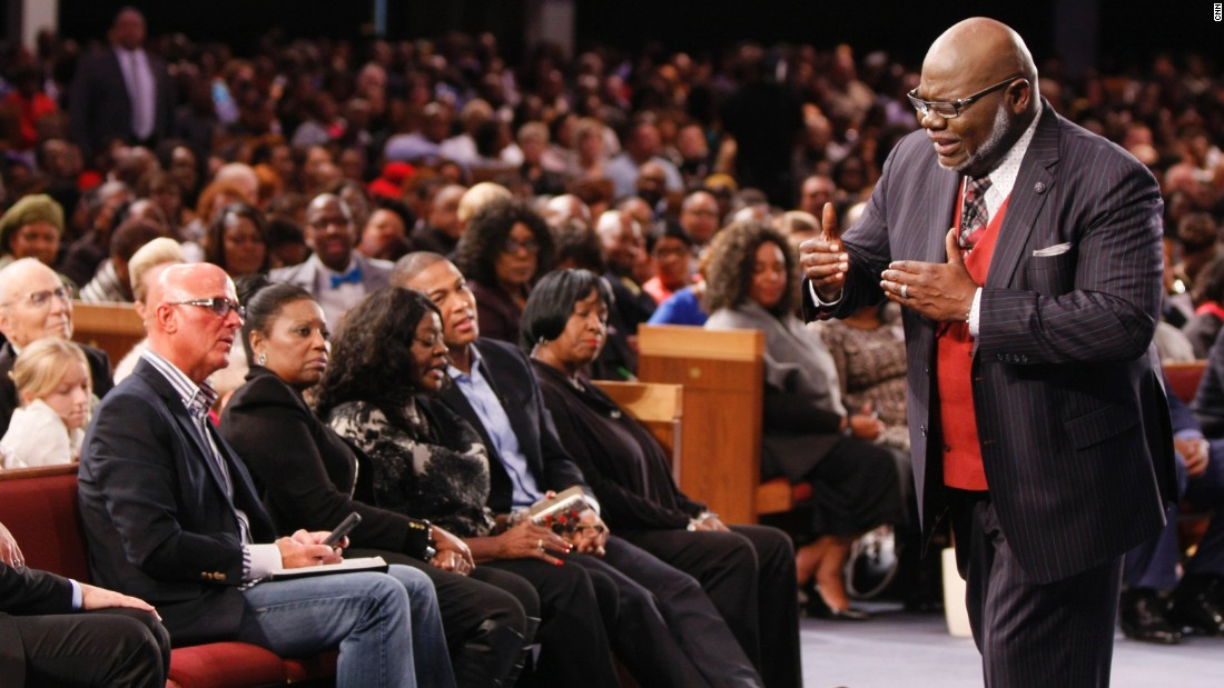 Bishop T.D. Jakes is a source of inspiration for millions but listening to his sermons, it feels as though he is speaking just to you.