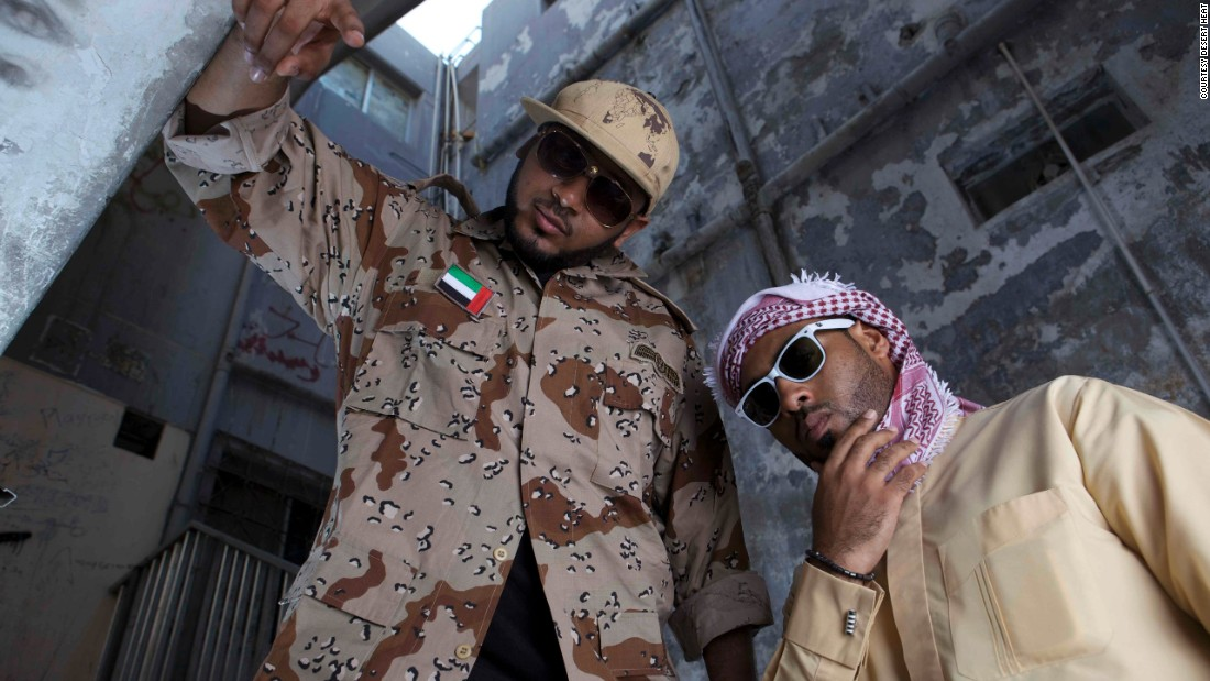 "Despite offering a ""wholesome"" brand of hip hop without violence or swearing, Desert Heat's first album was reportedly banned in Saudi Arabia and Kuwait."