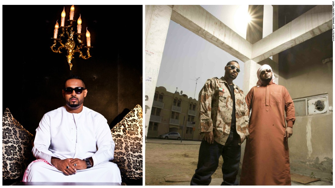"Over in the UAE, brothers Illmiyah and Arableak of Desert Heat are using hip hop to ""give a voice to the youth of the Middle East""."