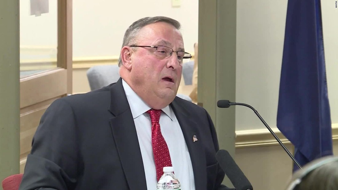Maine Gov. Paul LePage: Bring back the guillotine for drug traffickers
