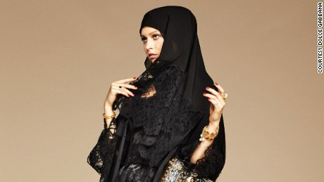 Dolce & Gabbana debuts line of hijabs and abayas