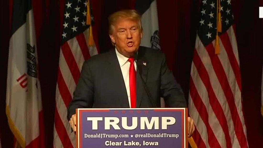 In Iowa, Trump intensifies 'birther' attack against Cruz