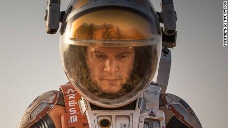 Matt Damon in 'The Martian'