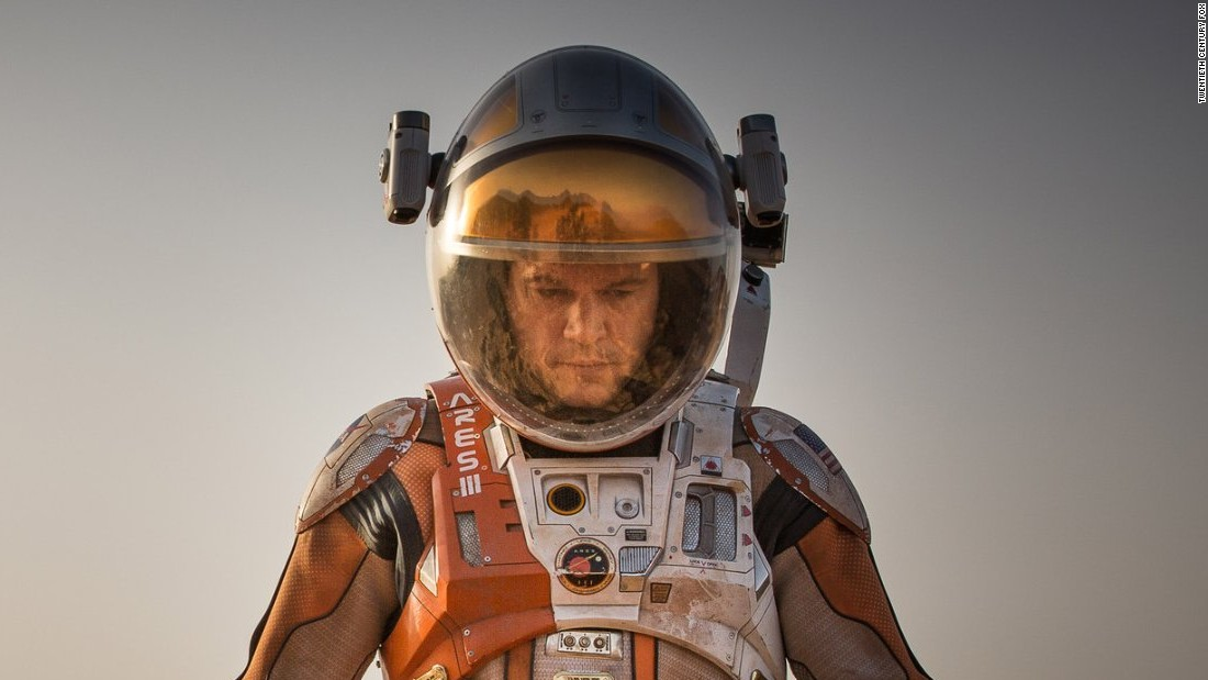 "Matt Damon starred as an American astronaut stranded alone on Mars in the 2015 电影, ""The Martian.&报价;"