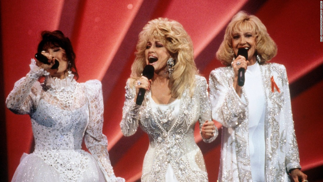 "In country music, you can't get much bigger than Dolly, Loretta Lynn, left, and Tammy Wynette. The three combined for the group Honky Tonk Angels in 1993. Their album hit the country top 10 and produced the much-played ""Silver Threads and Golden Needles."""