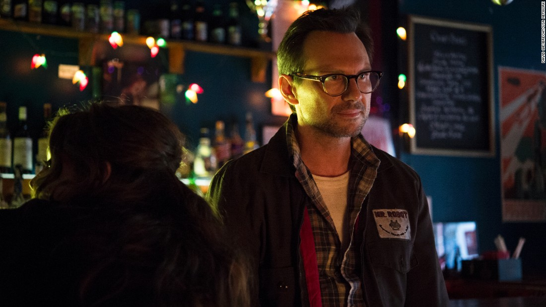 "<strong>Best supporting actor in a series, miniseries or television film:</strong> Christian Slater, ""Mr. Robot"""