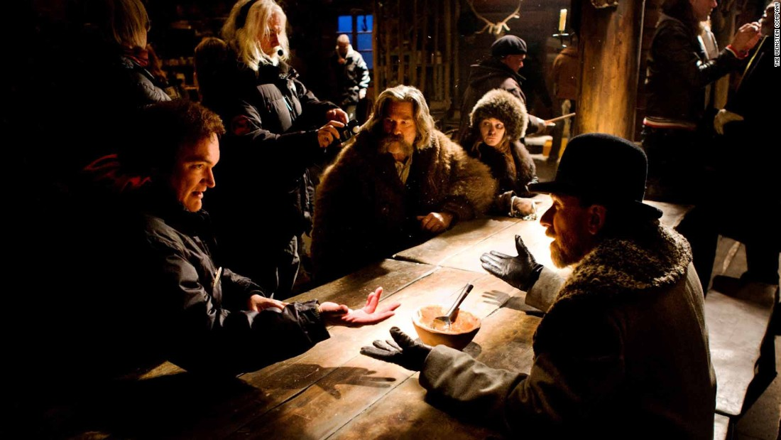 "<strong>Best original score<strong></strong>: </strong>Ennio Morricone, ""The Hateful Eight"""
