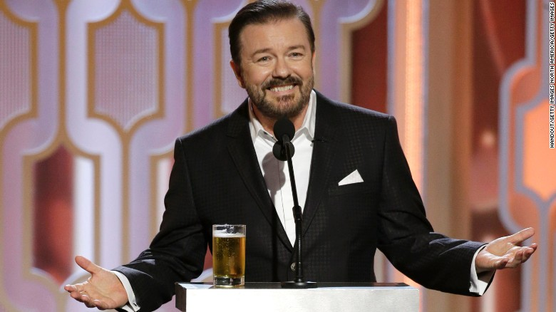 Apple Gets Roasted at Golden Globe Awards by Comedian Ricky Gervais