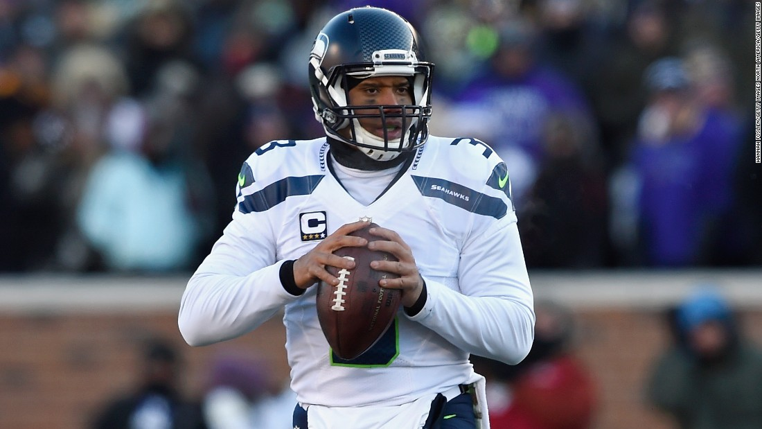 It's ironic that Russell Wilson threw the most famous interception in NFL history -- the last-minute gaff which cost the Seattle Seahawks the 2015 Super Bowl -- because the 28-year-old three-time Pro Bowler plays virtually error-free. Though standing at just 5 foot 11 inches, Wilson was the top-rated NFL quarterback in 2015, and is second all-time, trailing only Aaron Rodgers.