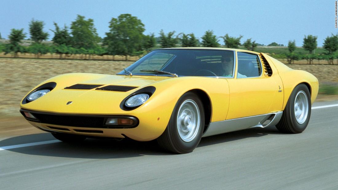Lamborghini Miura: Celebrating the 50th anniversary of the world\'s ...