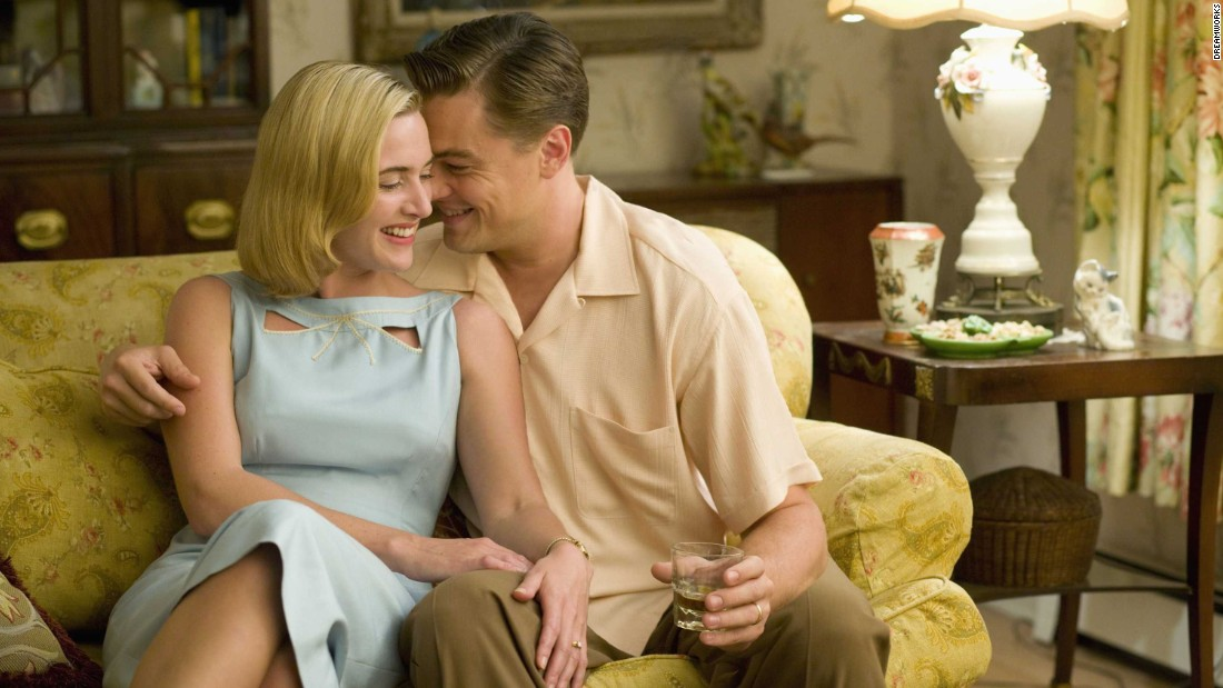 """Revolutionary Road"" reunited DiCaprio with his ""Titanic"" love interest Kate Winslet in 2008."
