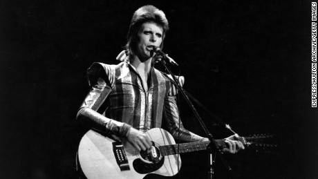 3rd July 1973: David Bowie performs his final concert as Ziggy Stardust at the Hammersmith Odeon, London. The concert later became known as the Retirement Gig.