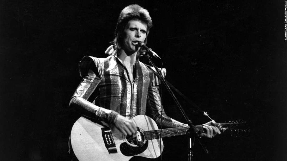 "<a href=""http://www.cnn.com/2016/01/11/entertainment/david-bowie-death/index.html"" target=""_blank"">David Bowie</a>, whose incomparable sound and chameleon-like ability to reinvent himself made him a pop music fixture for more than four decades, died January 10 after an 18-month battle with cancer. He was 69."