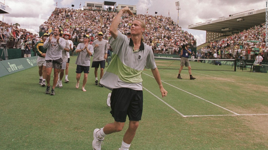 Hewitt was always proud to play for his country, and led Australia to Davis Cup success in 1999 and 2003. He will take up the role of team captain in March 2016 after retiring from playing.
