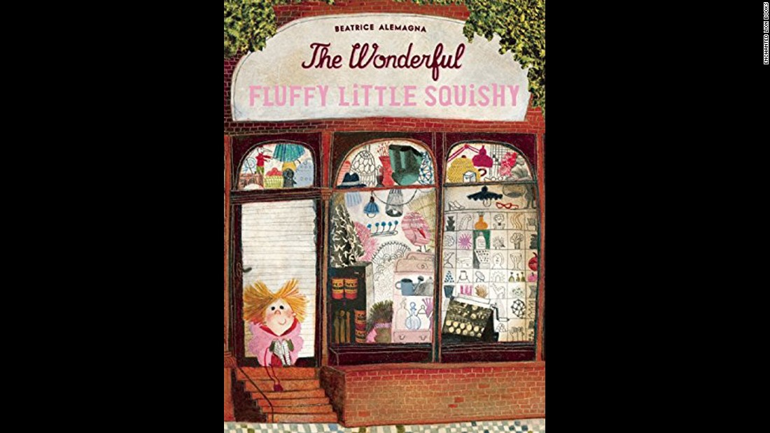 "<strong>Mildred L. Batchelder Award</strong> for an outstanding children's book translated from a foreign language and subsequently published in the United States: ""The Wonderful Fluffy Little Squishy,"" which was originally published in French in 2014 as ""Le merveilleux Dodu-Velu-Petit."" It was written and illustrated by Beatrice Alemagna and translated by Claudia Zoe Bedrick."