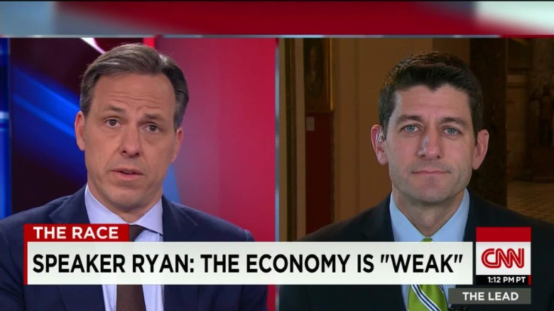 Paul Ryan: 2016 race shouldn't be a personality contest