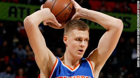 NBA giant Kristaps Porzingis: Head in the clouds; feet on the ground