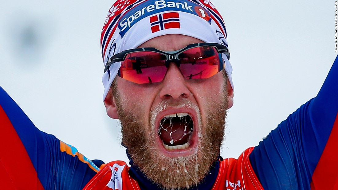 Martin Johnsrud Sundby, a cross-country skier from Norway, wins the Tour de Ski for the third straight year on Sunday, January 10. The last stage of the race was held in Val di Fiemme, Italy.