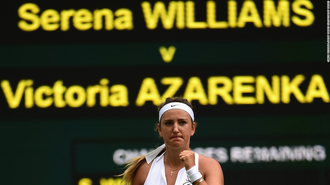 The former world No. 1 admitted she was still in pain for much of 2015 but managed to test Williams in Madrid, at the French Open and at Wimbledon.