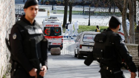 Deadly explosion in Istanbul