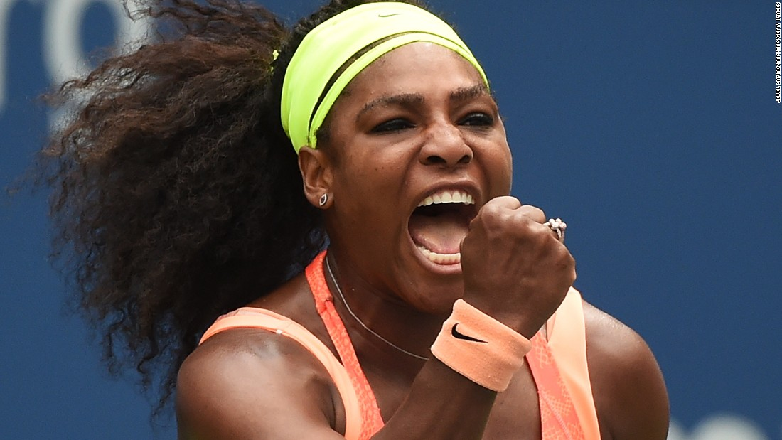 Serena Williams battled her way to three grand slams in 2015 to lift her total to 21, one shy of the Open Era record set by Steffi Graf.
