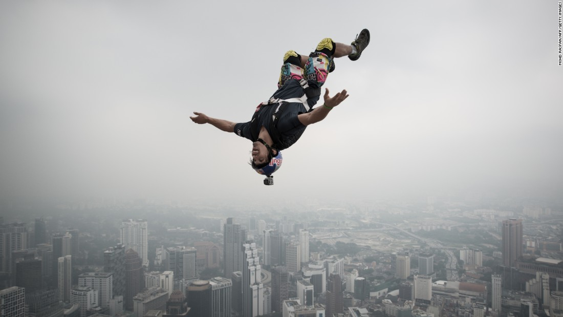 Meet The Father Of BASE Jumping CNN - Crazy guy base jumps radio tower