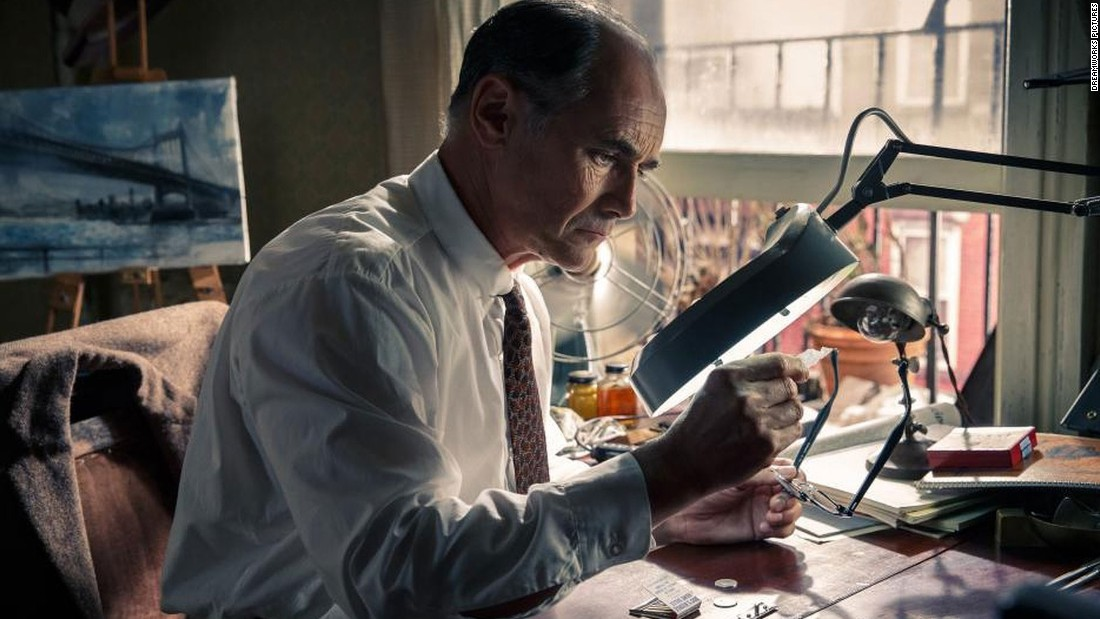 "<strong>Best supporting actor: </strong>Mark Rylance, ""Bridge of Spies"""
