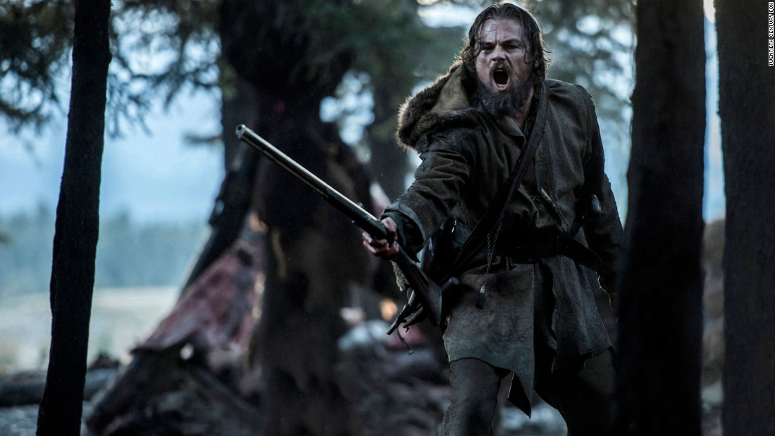 "Leonardo DiCaprio, ""The Revenant"""