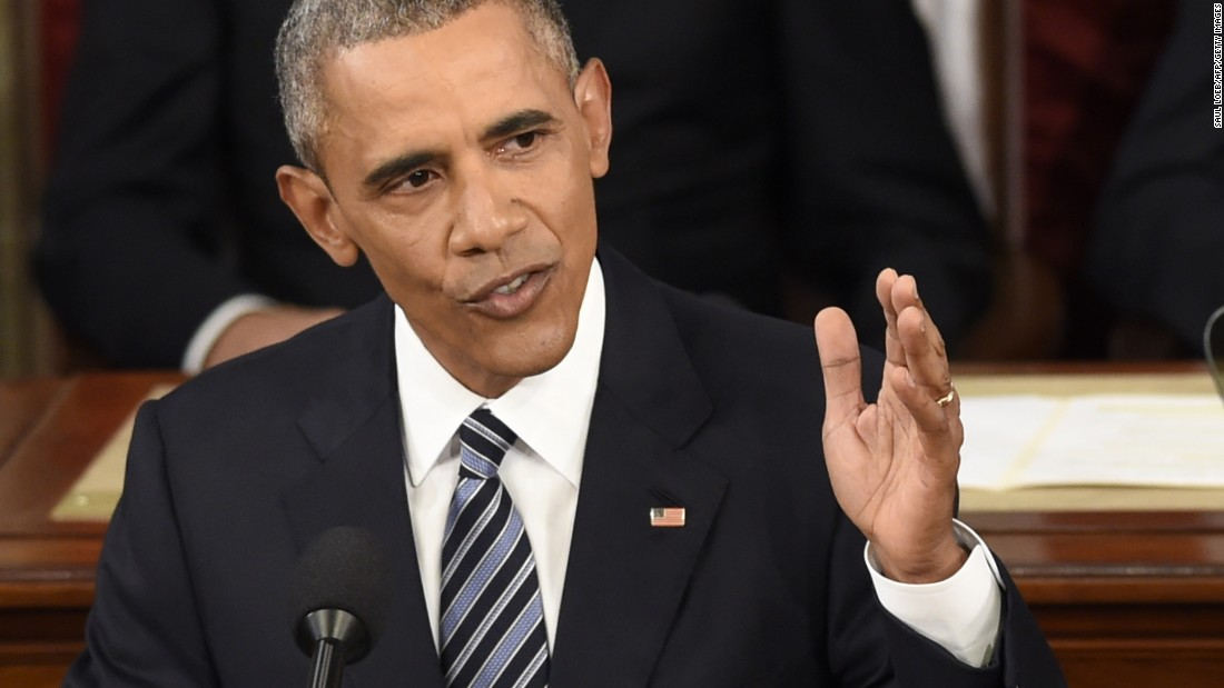 State of the Union: Barack Obama sells optimism to nervous nation