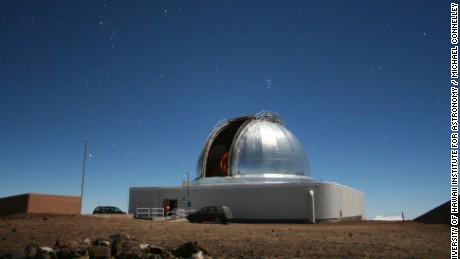 NASA's Infrared Telescope Facility on Maunakea on the Big Island of Hawaii.