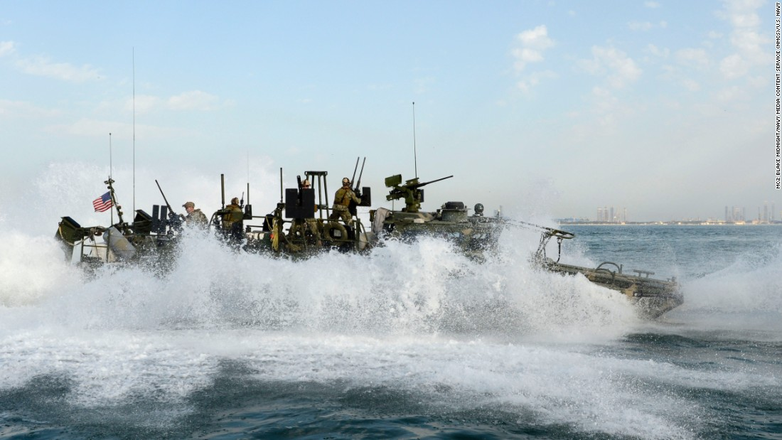 Sailors perform a stop while conducting patrol operations in February 2013.