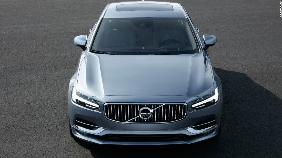 After nearly two decades of the S80, Volvo gives the S90 sedan: created as a luxury sport offering, it retains and repurposes the brand's<br /> trademark in-your-face front-end grille.