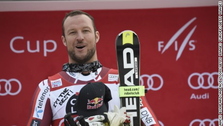 Svindal won the downhill/super-G double at Lake Louise and Val Gardena this season.
