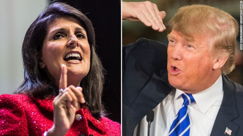 Nikki Haley's speech splits GOP