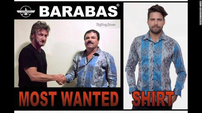 'El Chapo's' shirt sold out at stores