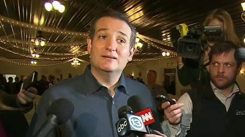 Cruz: Trump is worried because he's trailing in Iowa