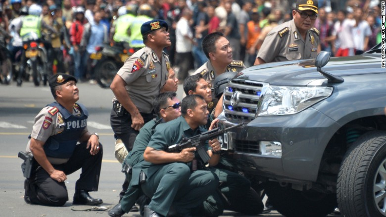 ISIS claims Jakarta bomb attack and shootout