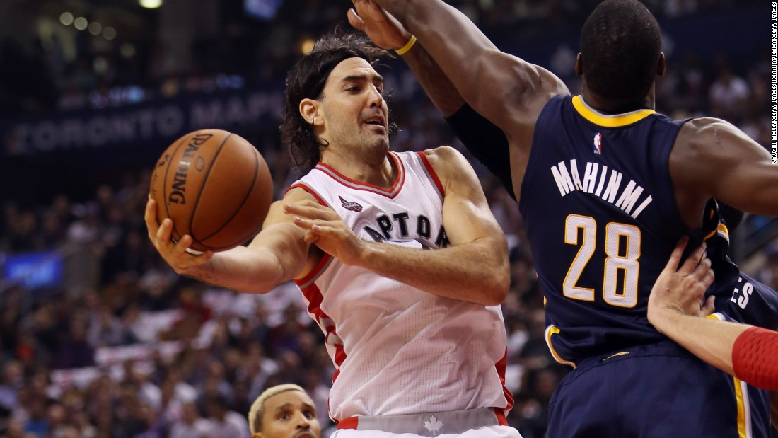 "Argentinian Luis Scola of the Toronto Raptors has enjoyed life in Canada with his wife and four kids. ""You get to know different people, speak different languages, you get to know a new country, the history, the culture, a new city. You get to know a lot of new places, exciting places,"" he told the Toronto Star."