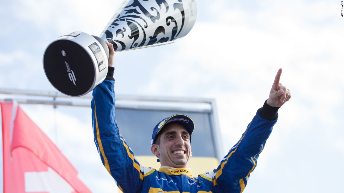 The Formula E World Championship is in its second season with Swiss Sebastien Buemi leading the way in the Drivers' Championship. The Renault e.Dams driver has won two of the opening three races.