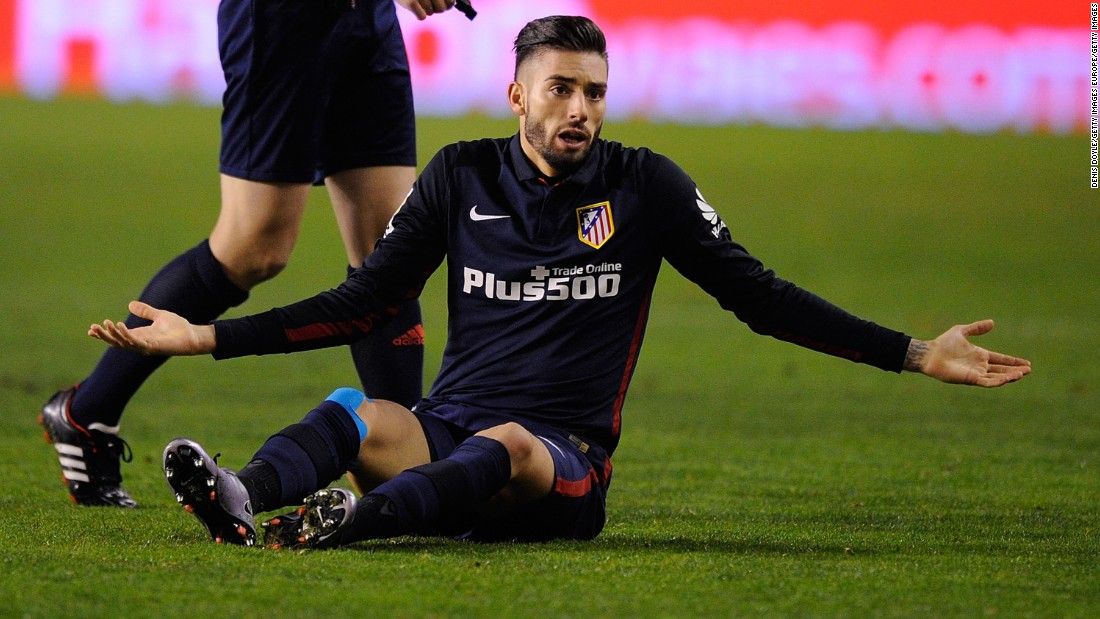 Belgian winger Yannick Ferreira Carrasco moved to the Vicente Calderón from French club Monaco for $18.7 million in July 2015.