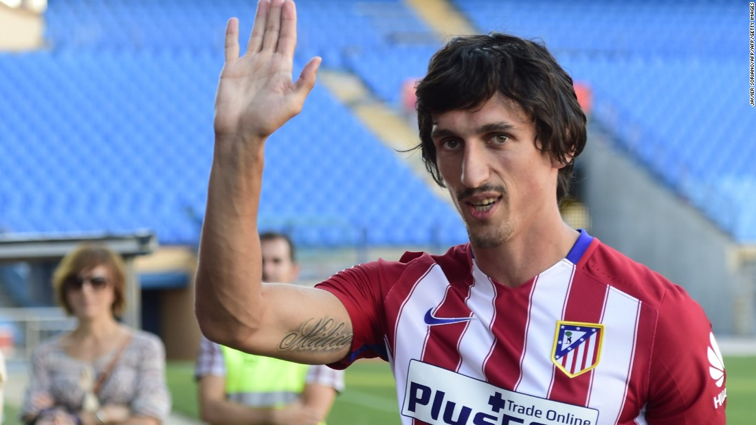 Montenegro defender Stefan Savic cost Atlético $25.2 million in July 2015, when midfielder Mario Suarez moved in the other direction to Italian side Fiorentina.