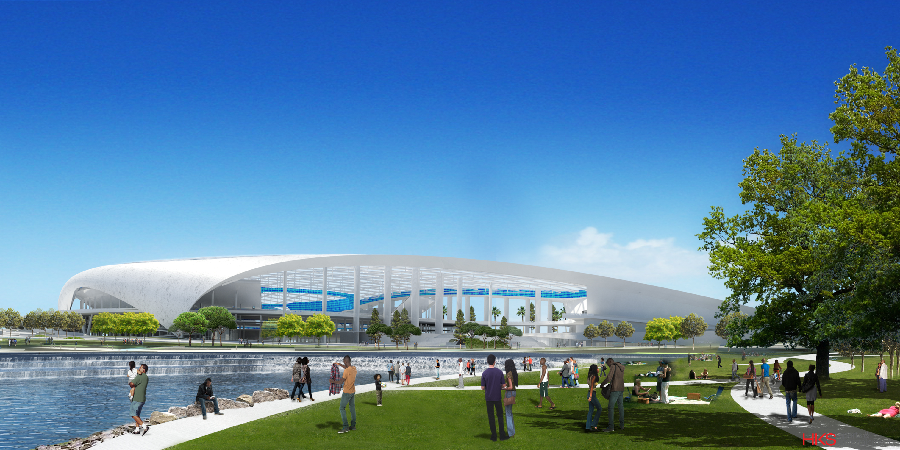 New La Rams Stadium In Inglewood To Be World S Most Expensive Cnn Style