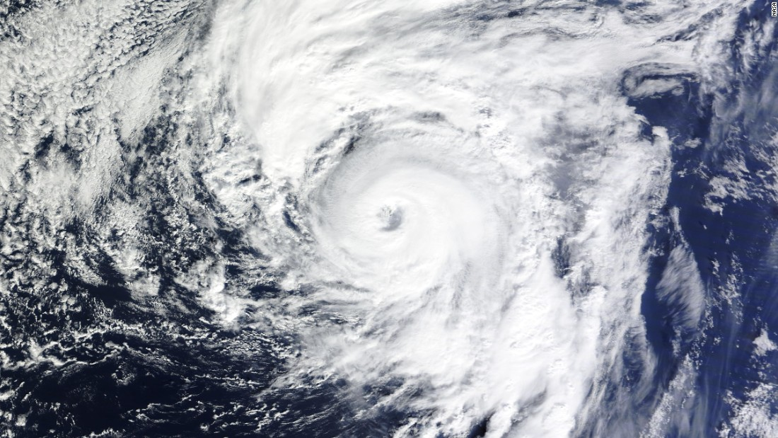 "A satellite image from NASA shows <a href=""http://www.cnn.com/2016/01/14/world/hurricane-alex-atlantic/"" target=""_blank"">Hurricane Alex</a> in the North Atlantic on Thursday, January 14. It's the first January-born hurricane since 1938. Its strength is surprising because tropical storms thrive most over warm waters -- something that's unexpected in the North Atlantic in the middle of winter."