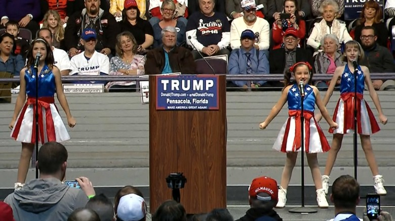 'Freedom Kids' Trump song goes viral