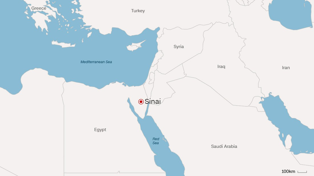 Egypt: 30 suspected militants, 4 soldiers killed in Sinai