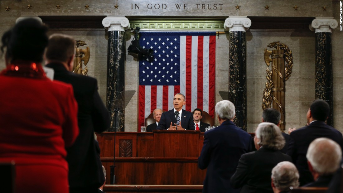 "President Barack Obama delivers his final <a href=""http://www.cnn.com/2016/01/12/politics/gallery/state-of-the-union-2016/index.html"" target=""_blank"">State of the Union address</a> on Tuesday, January 12."