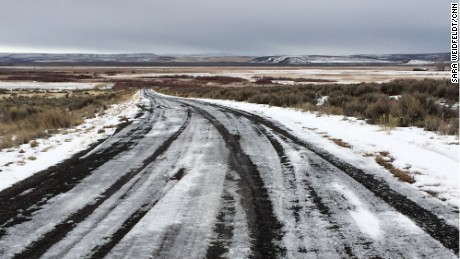 The long, lonely drive to the Malheur National Wildlife Refuge in Oregon.