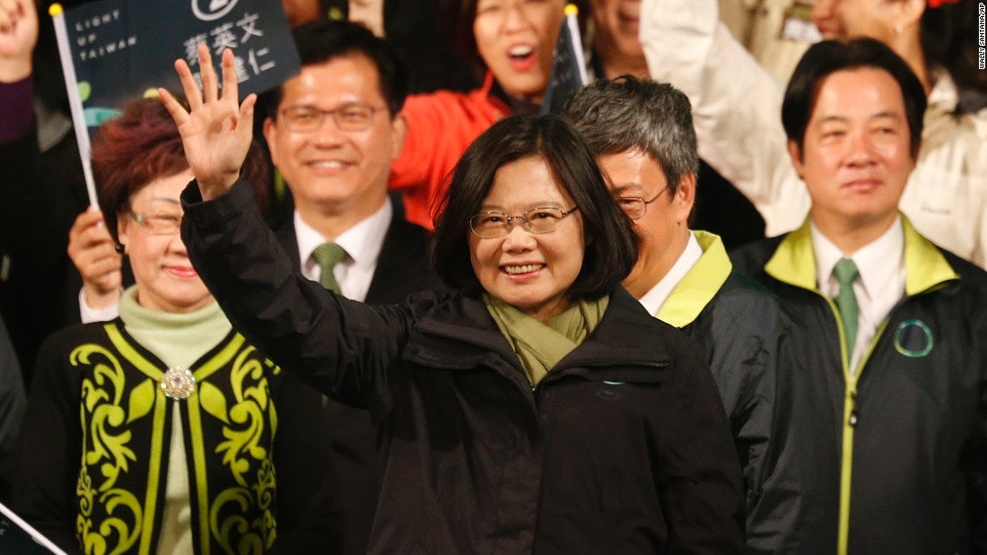 Taiwan elects its first female president; China warns of 'grave challenges'
