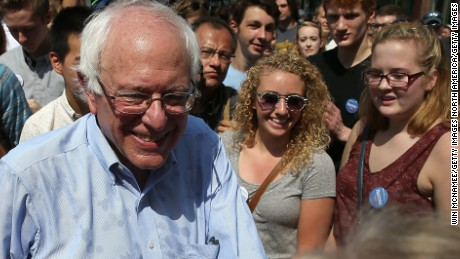 For millennials, Sanders is a grandpa who gets them