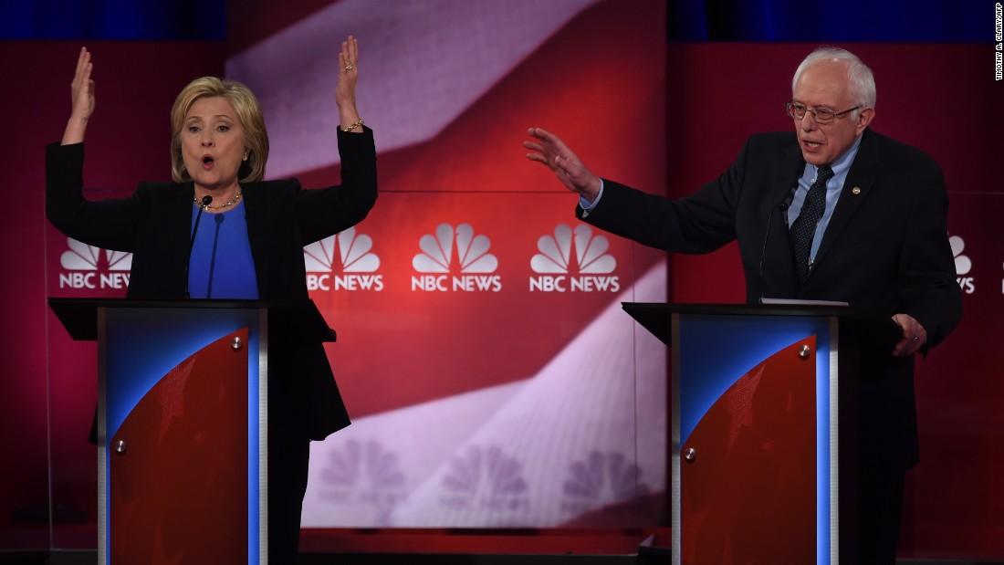 Bernie Sanders goes negative with Goldman Sachs, Iraq jabs